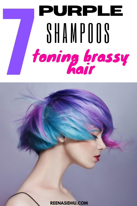 7 purple shampoo for toning brassy hair in 2020 purple