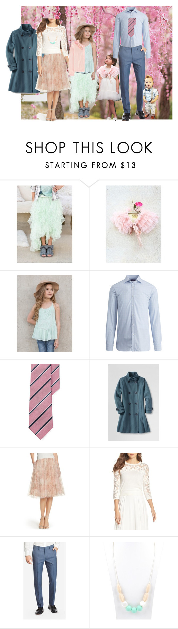 """""""Cherry Blossom Outfit Suggestion"""" by heather-mcduffy-tristan on Polyvore featuring Jenny Yoo"""