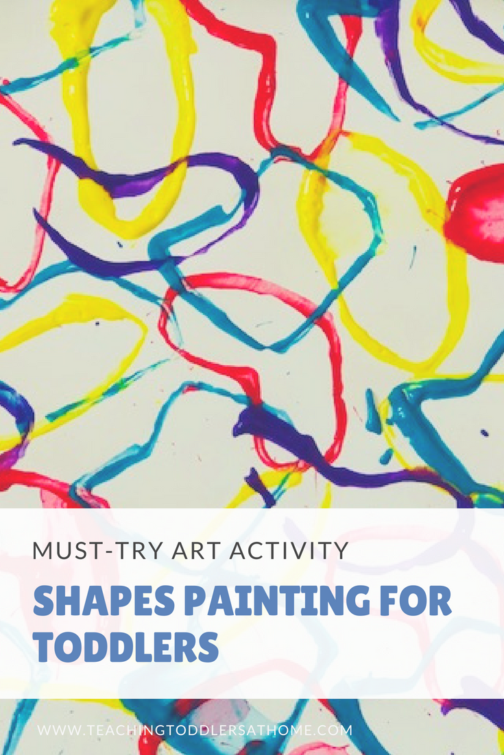 Shapes Painting Using Tissue Paper Rolls   Mommy Blogger Top Picks ...