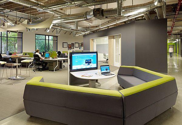 Captivating Skype Office Interior Design By Blitz Idea