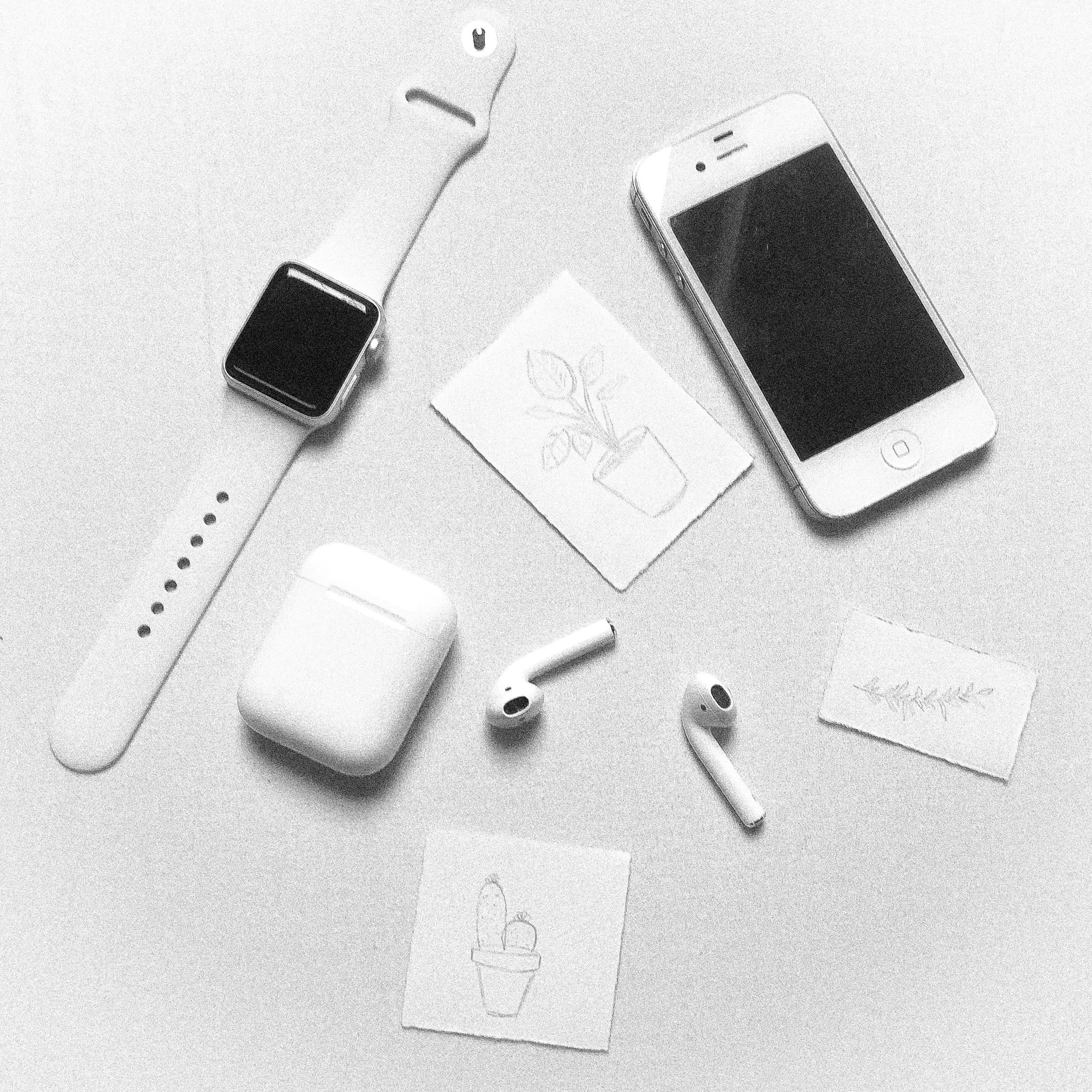 White aesthetic   All apple products, Apple watch white, Apple ...