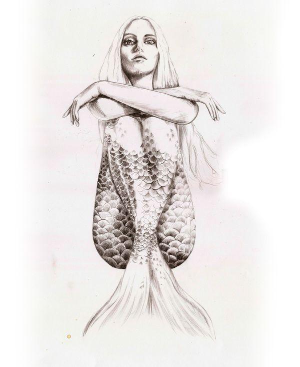 Meerjungfrau mit Haltung. Skizzen & Zeichnungen von Torun Mørkeseth Karlsen, via Behance-#haltung #karlsen #meerjungfrau #rkeseth #skizzen #torun #zeichnungen #classicactresses