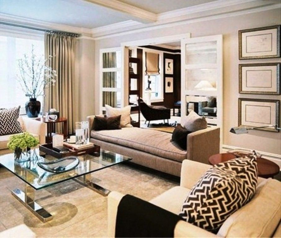 Beige living room decorating ideas picture living room for Living room ideas tan sofa