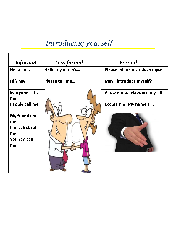 This is a very fun esol resource in which the students can take this is a very fun esol resource in which the students can take their worksheet and interact with one another in a role playing situation m4hsunfo