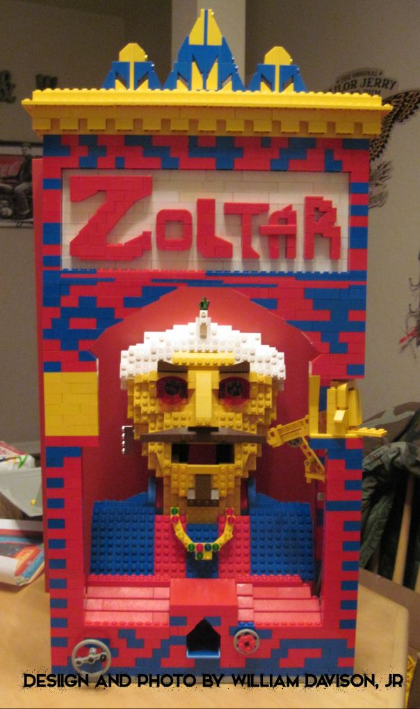 Introducing the LEGO Zoltar! | Lego brick, Legos and Lego creations