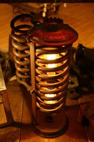repurposed lighting fixtures. Repurposed Copper Coil Light Lighting Fixtures