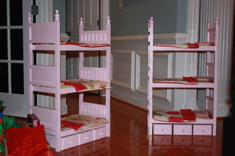 bunk bed for a doll | doll house | pinterest | american girl dolls