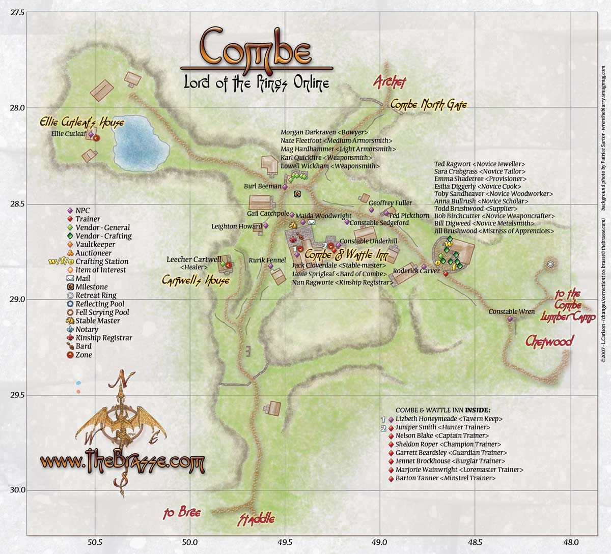 Maps be LotRO