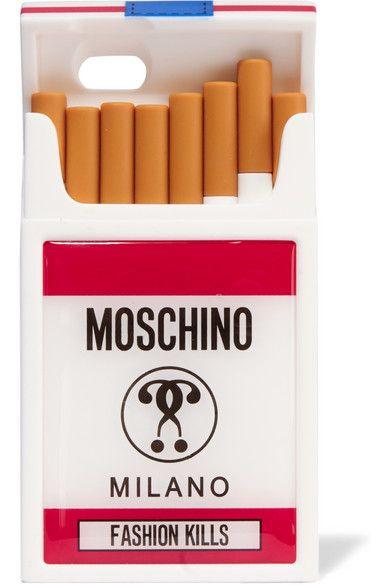 Moschino | iPhone 6-Hülle aus Silikon | NET-A-PORTER.COM
