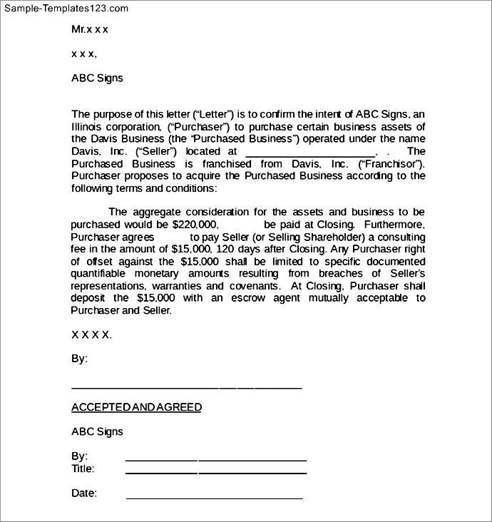 Business Agreement Sample Letter The Best Contract Termination