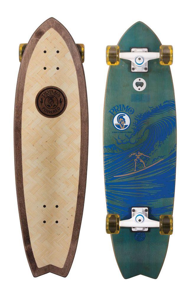 Primo Shark 9 7 X 33 Cruzer Shark Adventure Skateboard