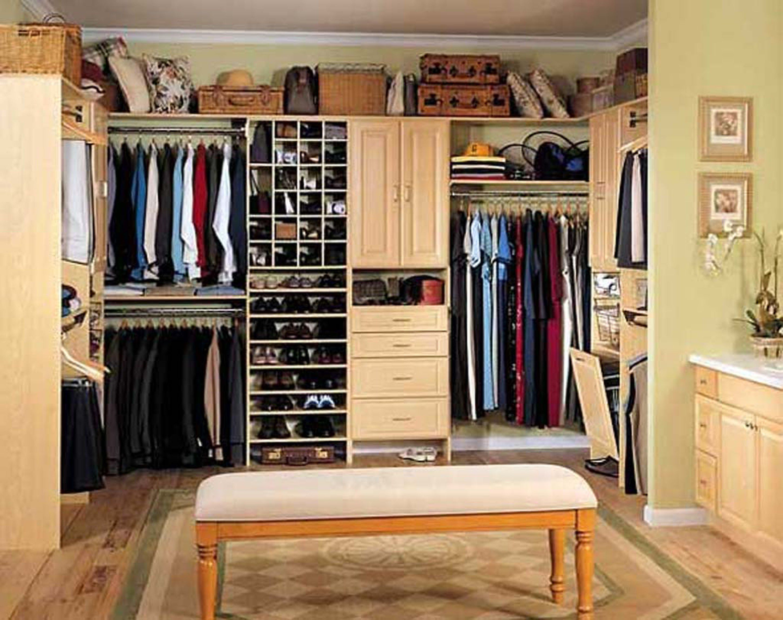 Fresh Clothes Closet Storage Ideas