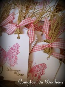 Gorgeous paper gift tags