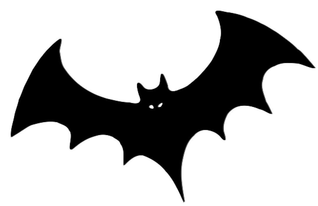 Black Bat Clip Art At Clker Svg Vector In 2021 Bat Clip Art Clip Art Art