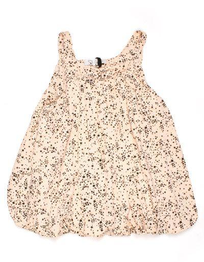 Soft pink ballon dress with stars - Gro