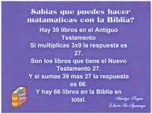 curiosidades de la biblia #matematicas con la #biblia