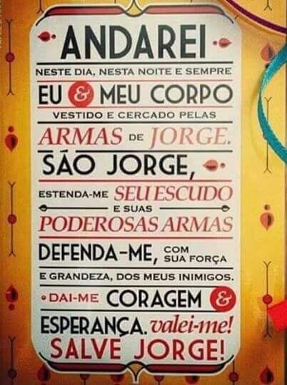 S Jorge Imagens Bacanas Pinterest Frases Feos E Santos