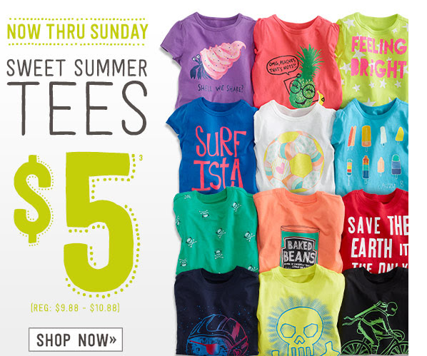0a24c7a7b Crazy 8: $5 Tees + Extra 20% Off Of Clearance Items! | Kids Clothing ...
