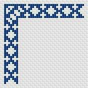 Decorative edge, embroidery, free cross stitch patterns and charts…