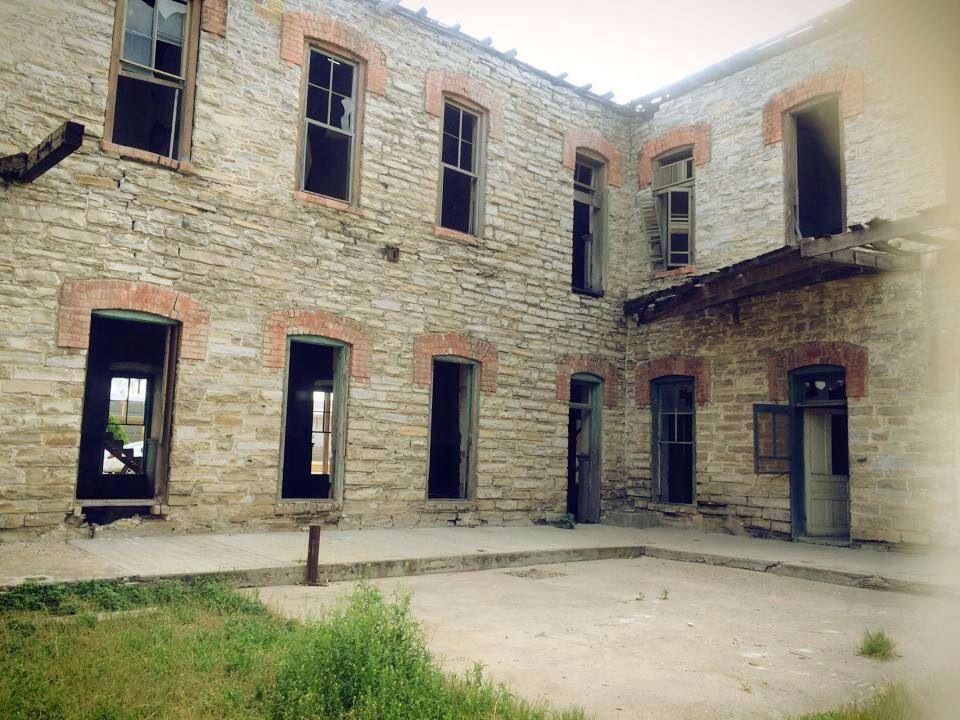 Antiguo Hotel del ferrocarril Ubicado en Piedras Negras