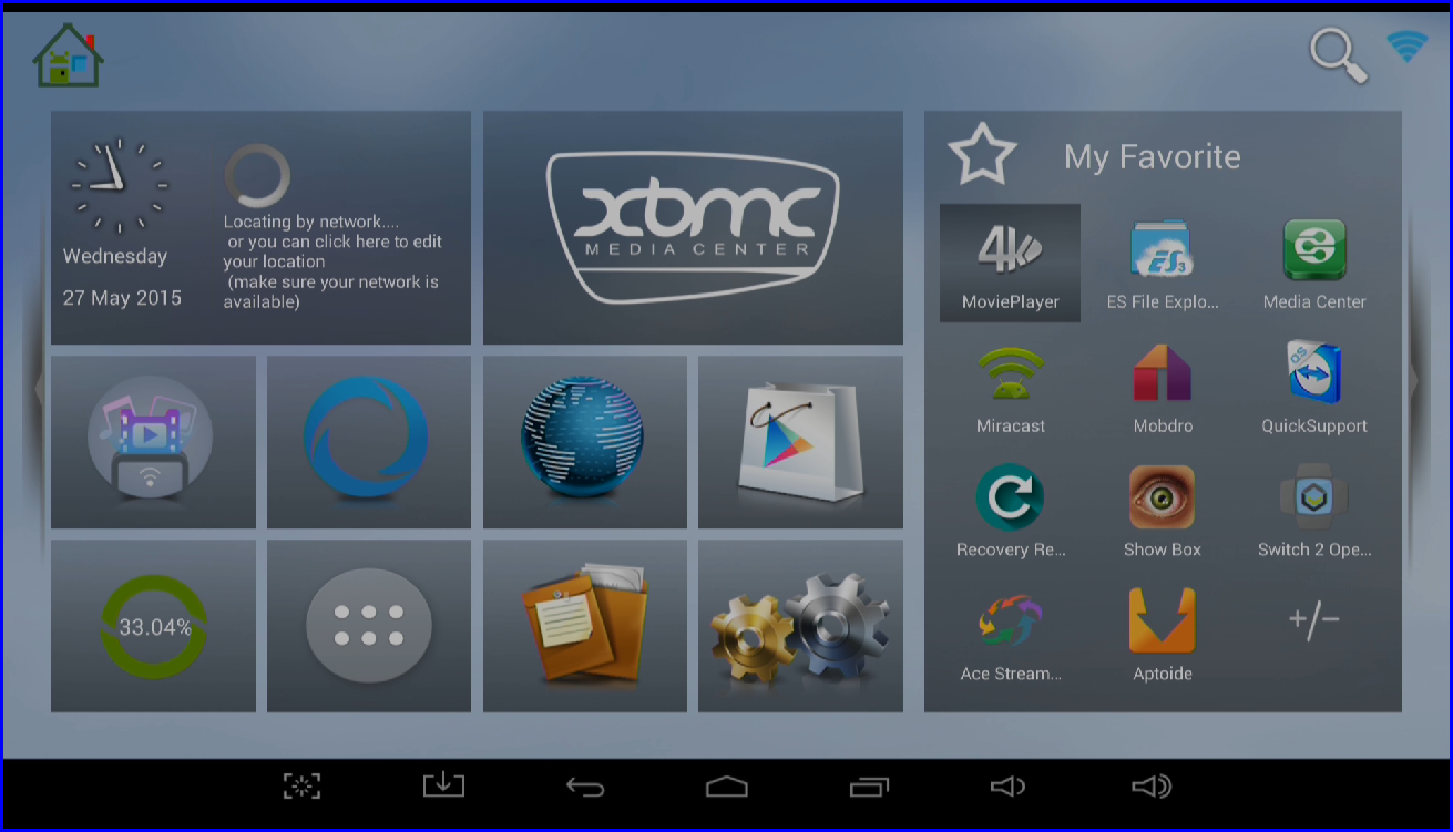 T8 and T8-S Launcher Home Screen | DroidBOX® How To | DroidBOX How
