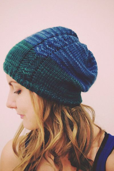 Mairead Slouchy Hat By Tara Marie Phillips Pattern Free Knitting