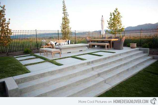 15 concrete exterior staircase design staircases concrete and