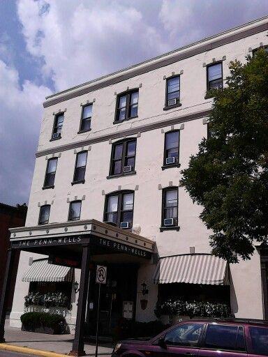 Penn-Wells Hotel in Wellsboro. PA #GrandCanyonPA | Wellness hotel. Wellsboro. Hotel