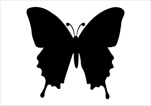 Butterfly Silhouette Vector Silhouette Graphics Silhouette Graphics Clipart Best Silhouette Clip Art Silhouette Vector Butterfly