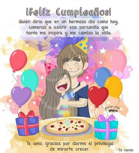 Azucar y sal feliz cumpleaños lovee Pinterest Happy birthday, Birthdays and Married life