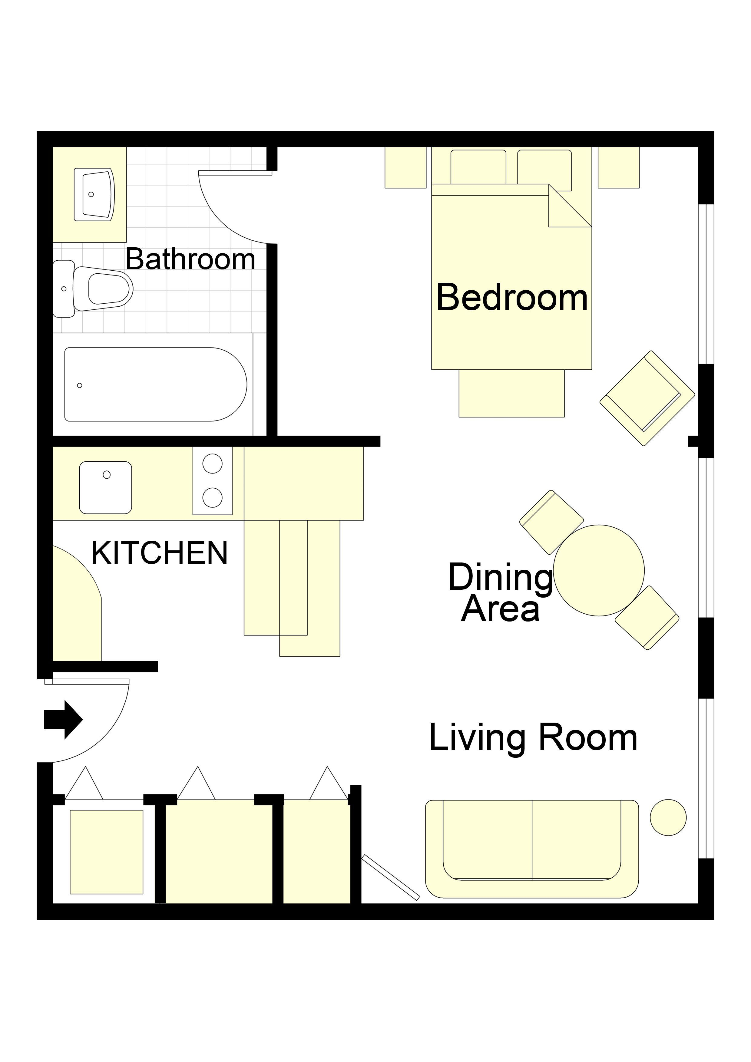 Cerons Apartment Floorplan | guest house | House, Rental apartments on vacation house plans, water house plans, cheapest house plans, manufactured home house plans, guest house plans, multifamily house plans, house house plans, 1200 square feet house plans, internet house plans, condo house plans, multi-unit house plans, apartment house plans, one story square house plans, townhouse house plans, small house plans, residential house plans, engineering house plans, car house plans, commercial house plans,
