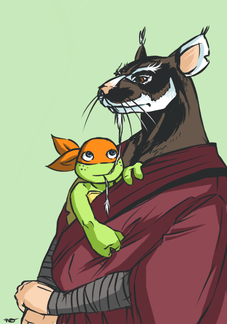 Master Splinter Employs His Mystical Gift Of Observation And
