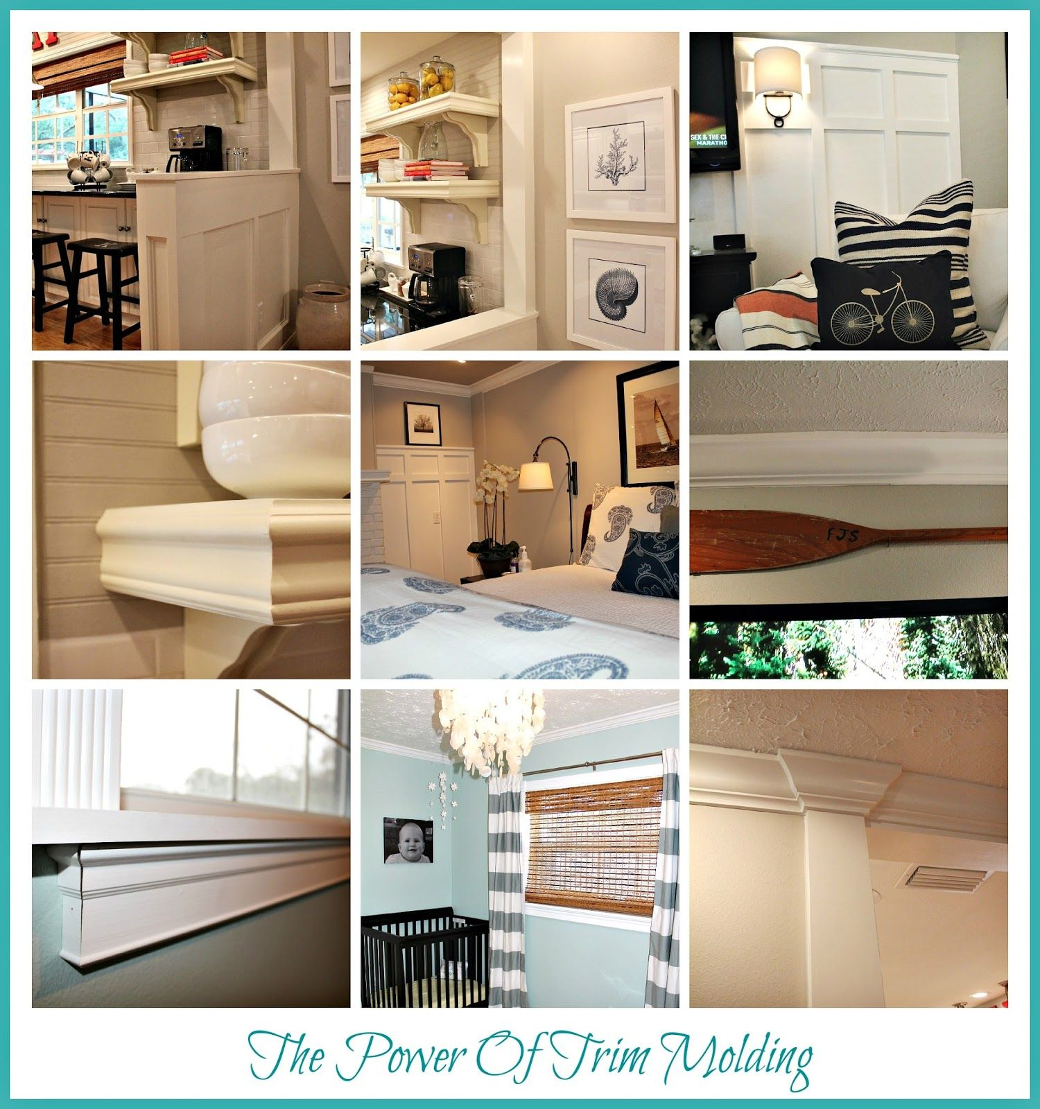 An Easy Diy For A Boring Apartment: The Daily Nest: The Power Of Trim Molding!