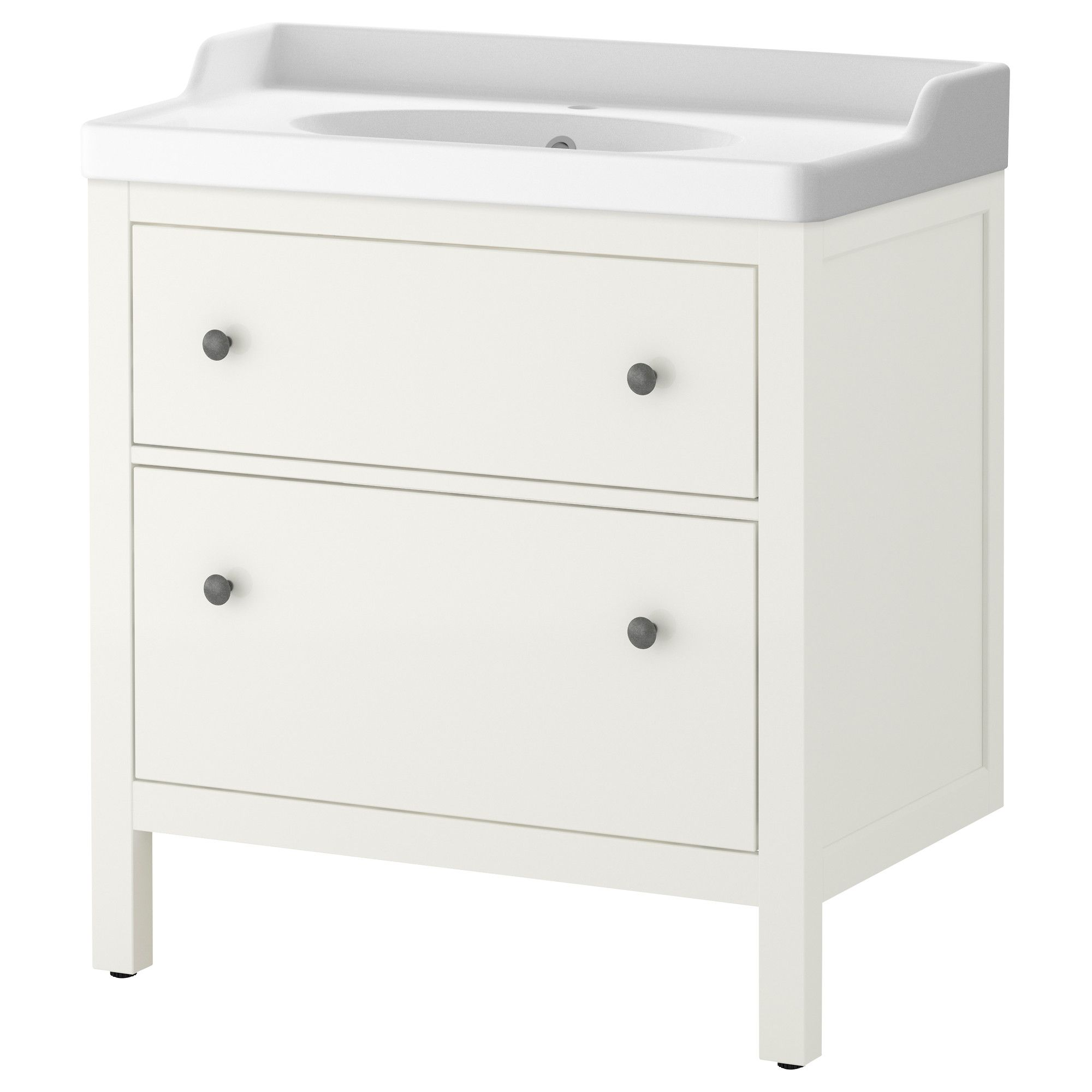 "HEMNES R""TTVIKEN Sink cabinet with 2 drawers white"