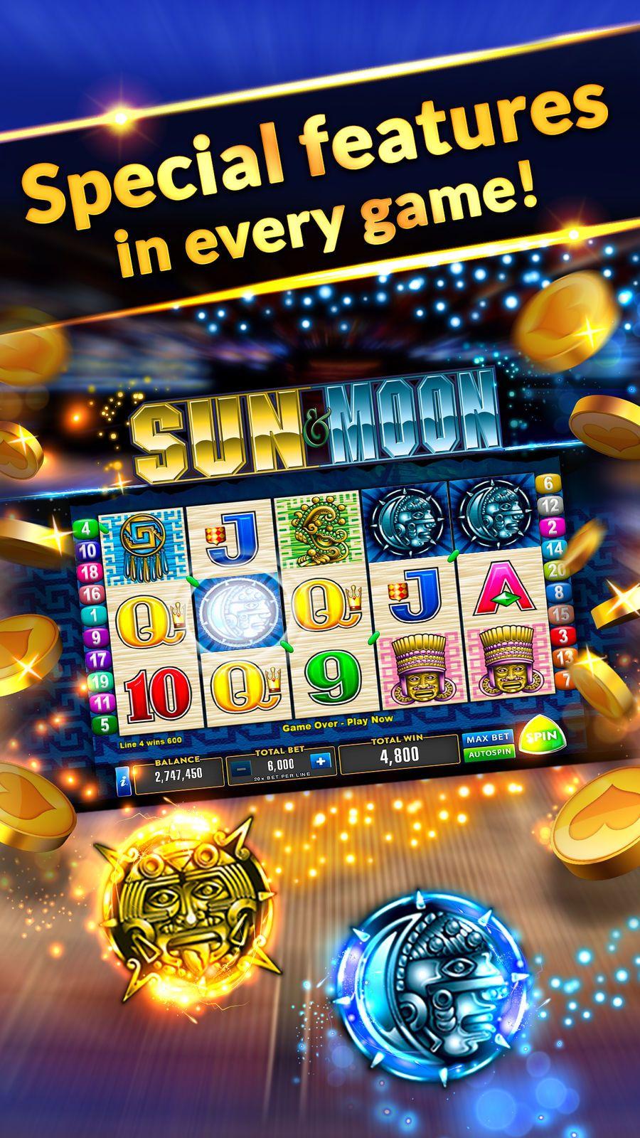 Heart of Vegas 鈥?20Slots Casino GamesMadness