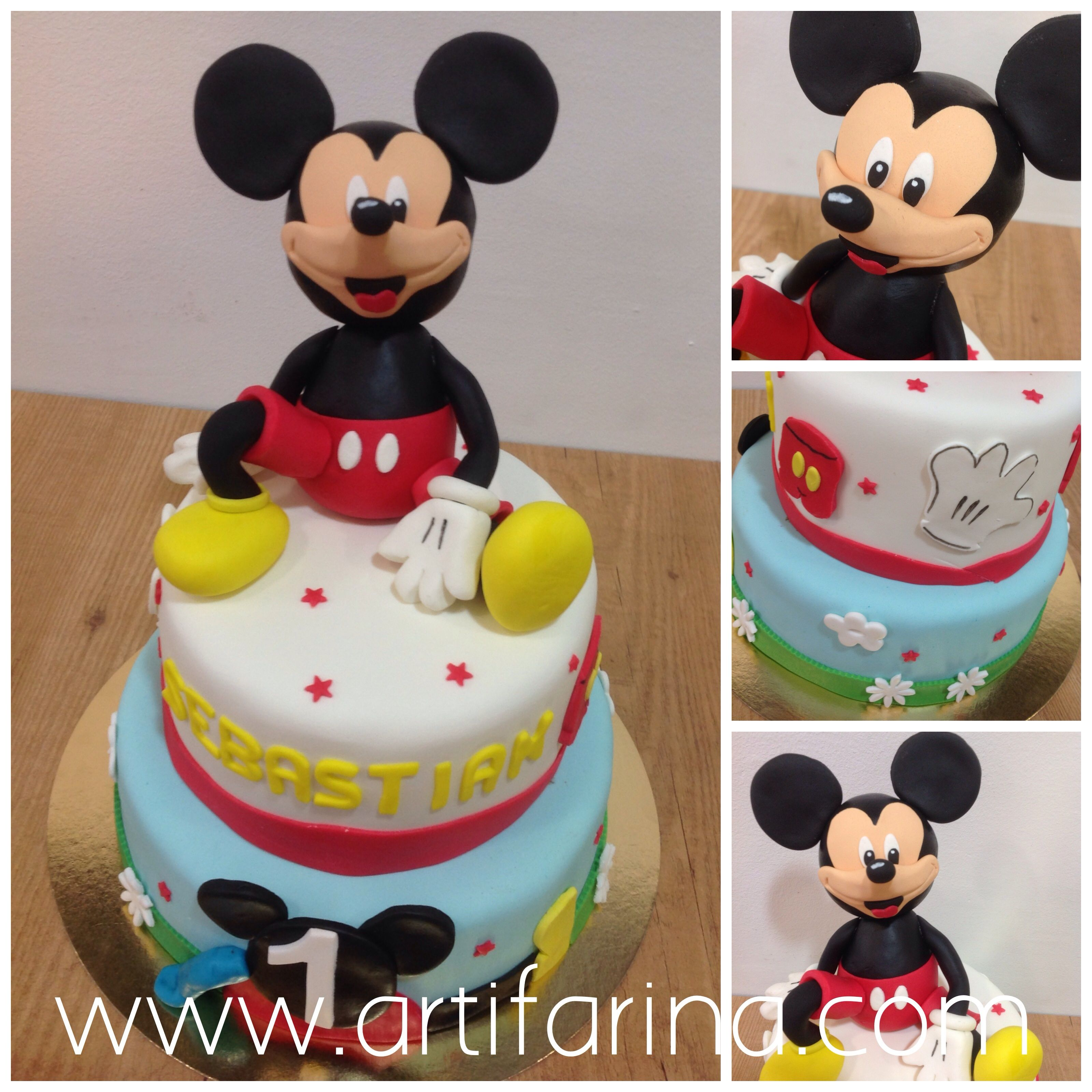 Cake Mickey Mouse pastel mickey Mouse top pingo mickey mouse