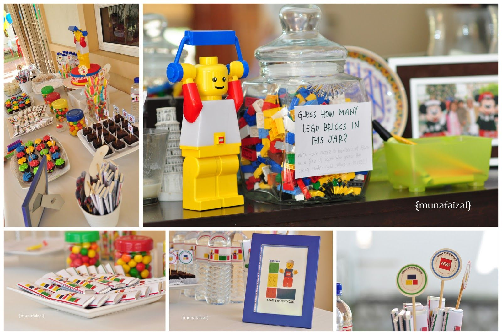 Love this Lego treat table!