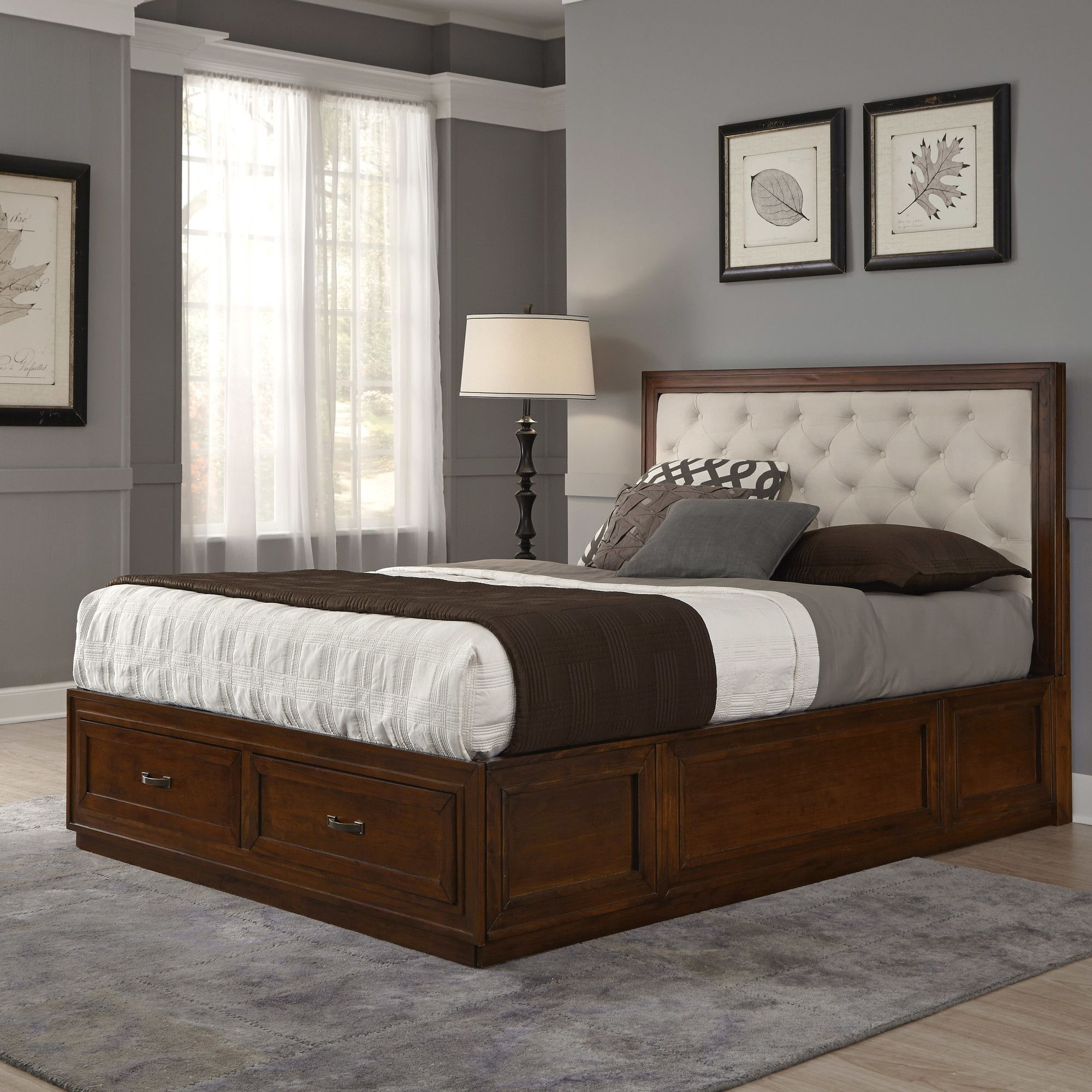 myra upholstered storage platform bed platform beds and products