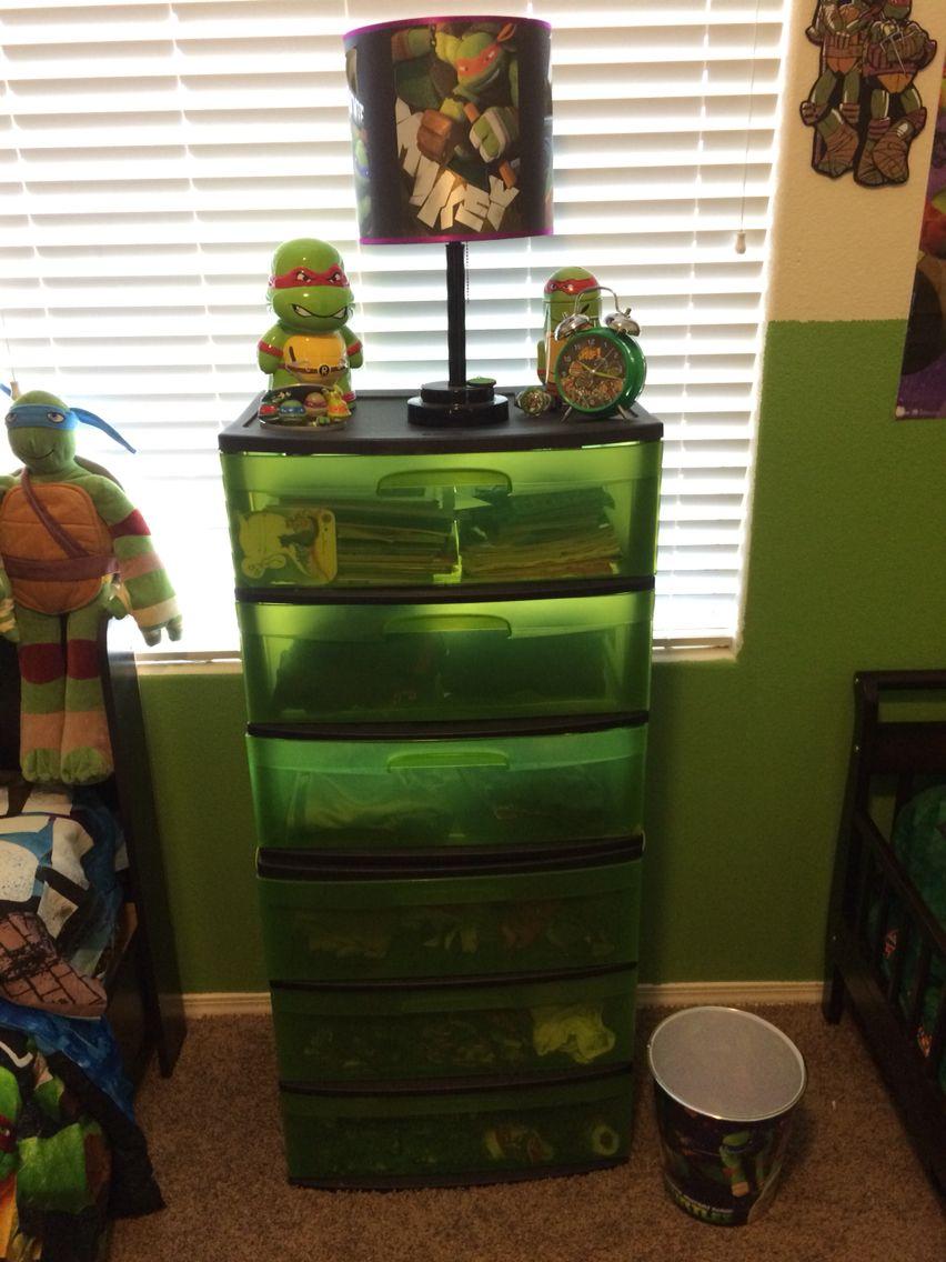 Teenage Mutant Ninja Turtles Bedroom With Images Turtle