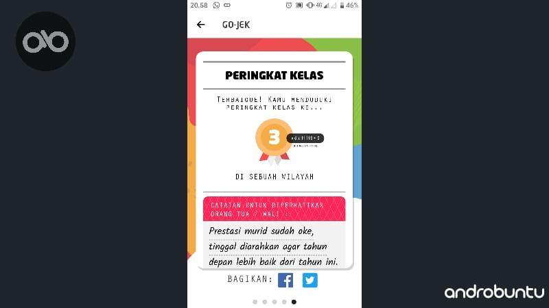 Rapor Gojek Berikan Laporan Nilai Penggunanya Selama Tahun 2018 Aplikasi