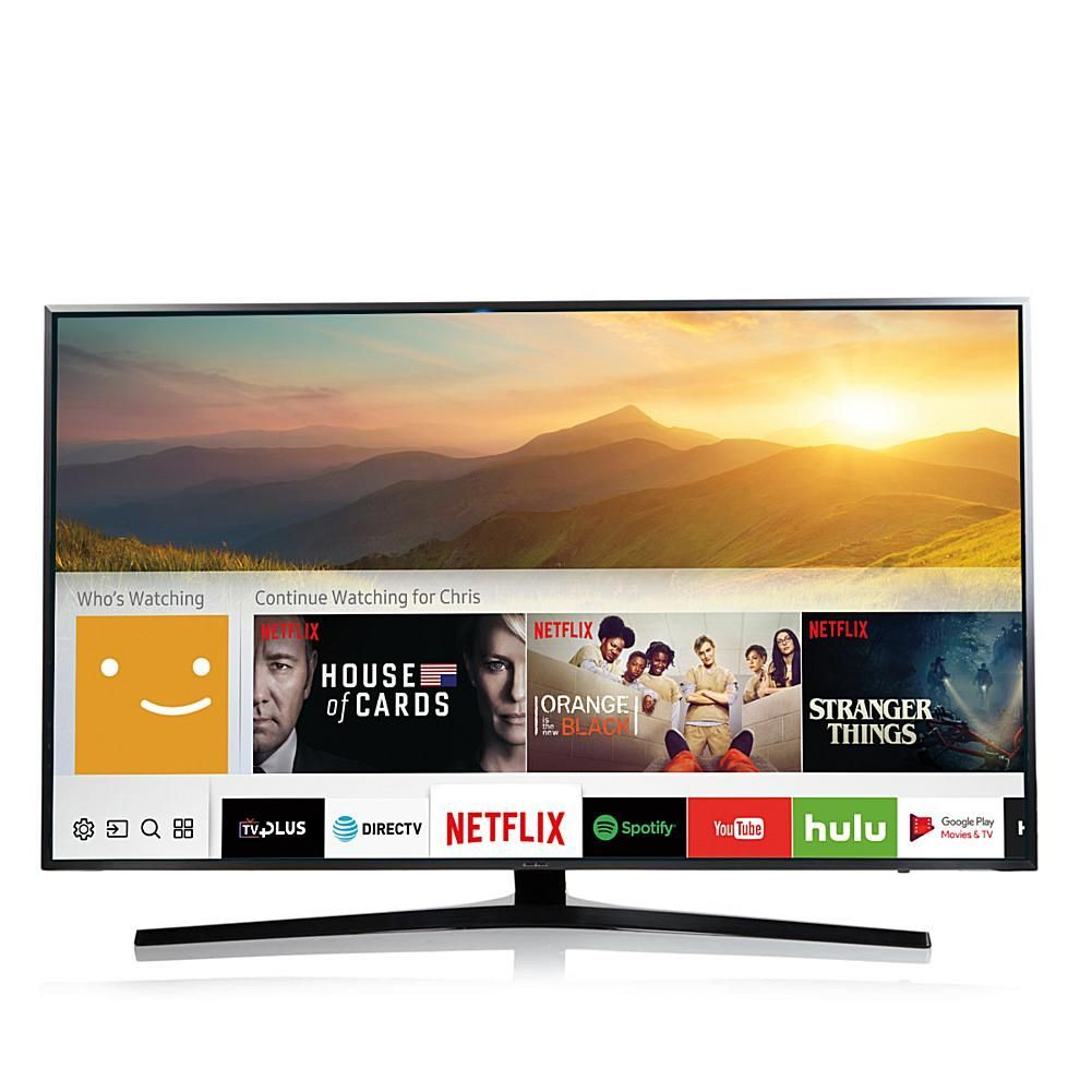 Samsung 55 4k Flat Led Ultra Hd Smart Tv With Smart Remote 6 5  # Vegas Meuble Tv