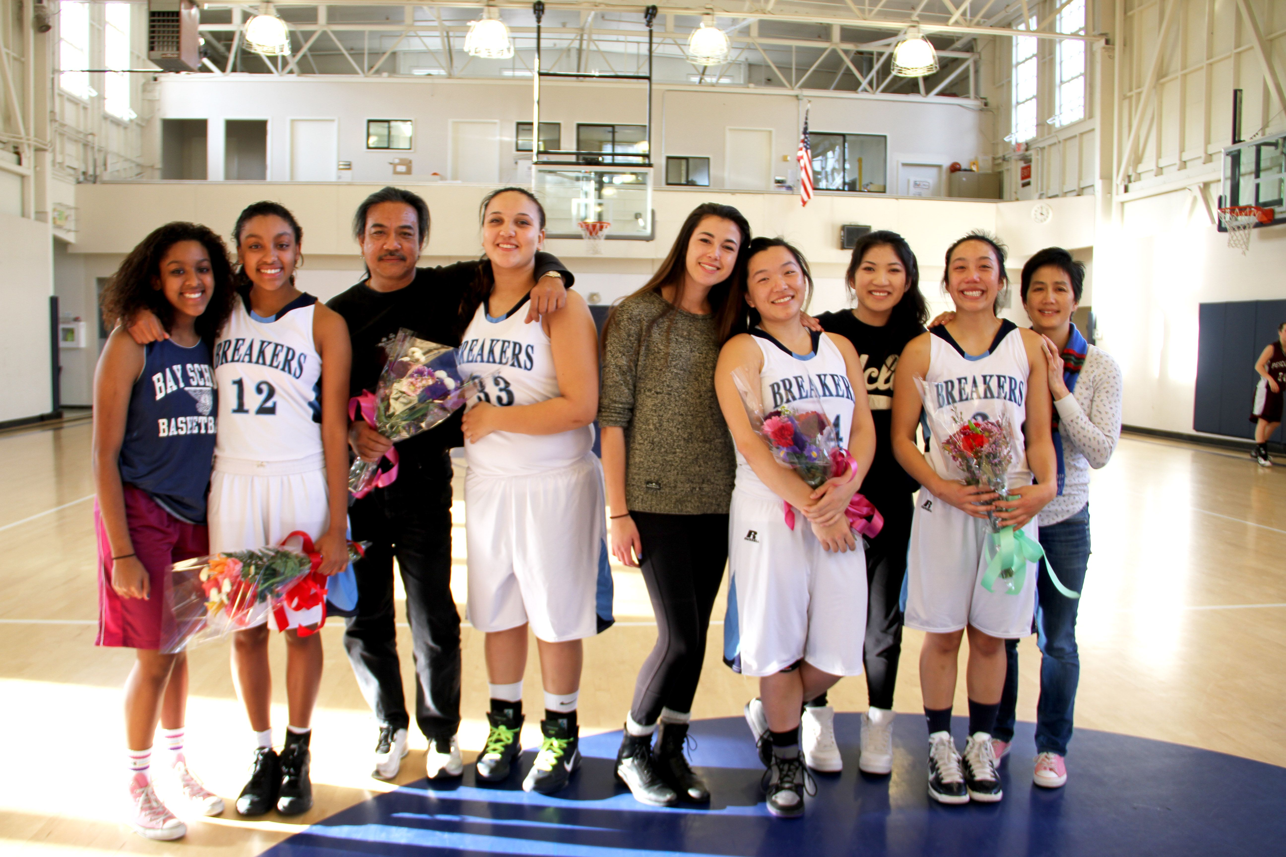Girls Varsity Basketball S Class Of 2013 Played At Presidio Community Ymca S Letterman Gym For The Last Time Tuesday Https Home Baysch Podium Ymca Lettermen