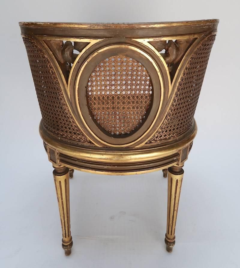 Louis XVI Style Cane Chair