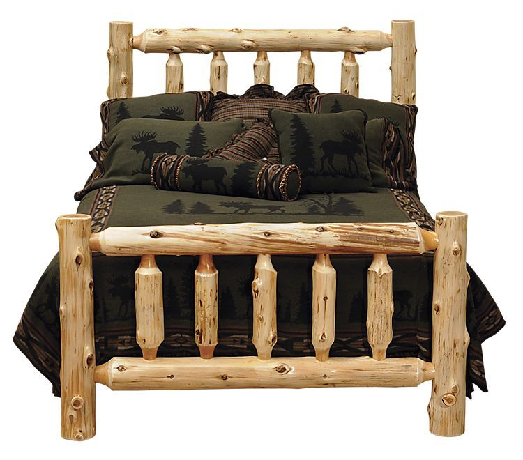 Fireside Lodge Furniture Cedar Log Bed Twin