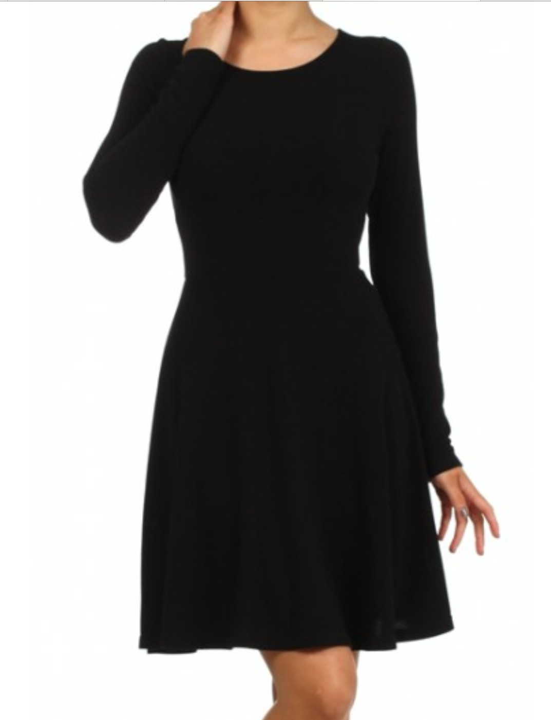 Black everly dress available at every girl boutique
