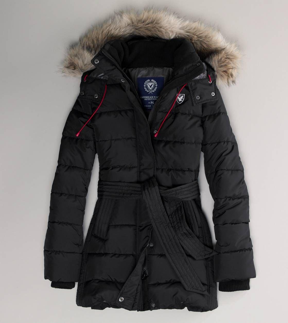 New Arrivals Women American Eagle Outfitters Black Puffer Coat Black Puffer Jacket Women S Puffer Coats [ 1253 x 1119 Pixel ]