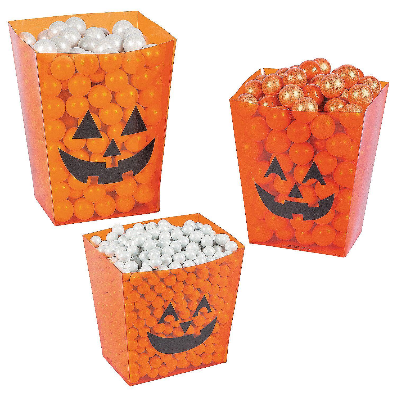 Halloween candy buffet idea - Halloween Candy Buffet Buckets Orientaltrading Com
