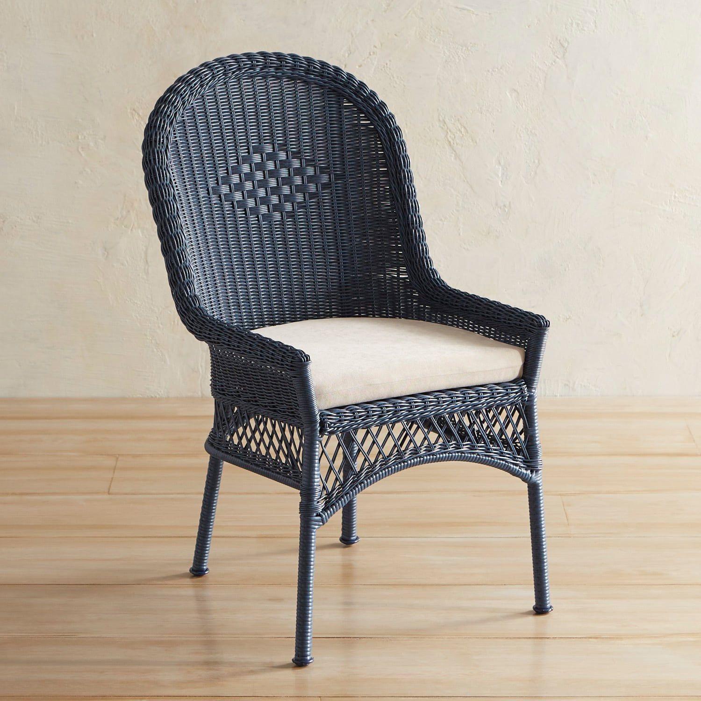 Best Santa Barbara Denim Blue Dining Chair Indoor Chairs 400 x 300