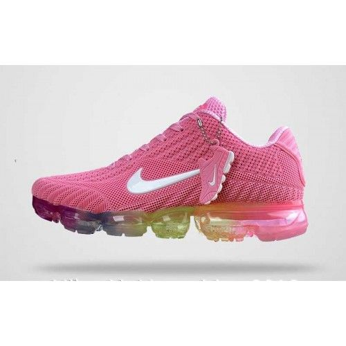 reputable site 56651 00e03 Femme Nike Air Vapormax KPU TPU Chaussures Rose Blanc Style Air Max, Purple  Sneakers,