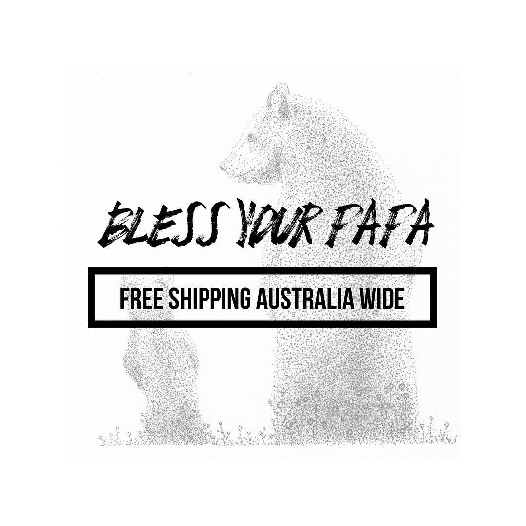 • 14 DAYS OF FATHERS DAY • Free shipping Australia wide on our 4 Father's Day designs.  Shop at: www.blessingandhonour.com